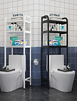 cheap -Toilet Shelf Floor Bathroom Shelf Toilet Storage Rack above Toilet Shelf Household