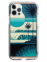 cheap -Tree scenery Case For Apple iPhone 12 iPhone 11 iPhone 12 Pro Max Unique Design Protective Case Pattern Back Cover TPU