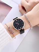 cheap -Women's Quartz Watches Analog Quartz Stylish Minimalist Creative / PU Leather