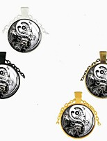cheap -Men's Women's Long Necklace Glass Alloy Black Bronze Gold Silver 70 cm Necklace Jewelry 1pc For
