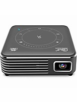 cheap -P11 Smart Projector Android 9.0 1G RAM 8G ROM Support Bluetooth 3D HD Portable DLP Display Mobile LED Projector with Battery