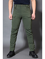 cheap -Men's Hiking Pants Trousers Tactical Pants Solid Color Summer Outdoor Tailored Fit Waterproof Quick Dry Breathable Wear Resistance Bottoms Black Army Green Grey Khaki Hunting Fishing Climbing S M L