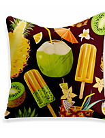 cheap -Cushion Cover 1PC Linen Soft Decorative Square Throw Pillow Cover Cushion Case Pillowcase for Sofa Bedroom 45 x 45 cm (18 x 18 Inch) Superior Quality Machine Washable