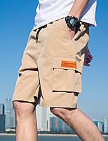 "cheap -Men's Hiking Shorts Summer Outdoor 12"" Regular Fit Breathable Sweat wicking Shorts Black Army Green Blue Khaki Beach Traveling M L XL XXL XXXL"