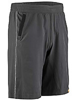 cheap -, men's urban bike shorts, black, medium