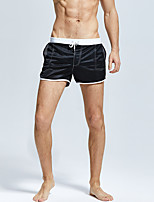 cheap -Men's Swim Shorts Swim Trunks Board Shorts Breathable Quick Dry Drawstring - Swimming Surfing Water Sports Solid Colored Summer