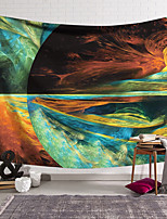 cheap -Wall Tapestry Art Decor Blanket Curtain Hanging Home Bedroom Living Room  Polyester Multi Color Earth