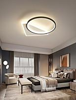 cheap -40 cm Geometric Shapes Flush Mount Lights Metal Modern Style Stylish Geometrical Painted Finishes LED Modern 220-240V