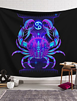 cheap -Wall Tapestry Art Decor Blanket Curtain Hanging Home Bedroom Living Room Decoration Polyester Crab