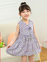 cheap -girls summer new korean version of sleeveless v-neck vest skirt children's princess dress, big child baby dress wholesale