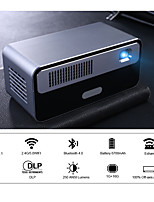 cheap -HDP300 250 ANSI Mini LED Portable DLP Projector Smart Projector WiFi Battery HD Android 1080P Bluetooth Pocket Pico Handheld Beamer