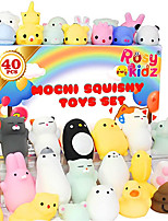 cheap -40pcs Mochi Squishy Toys Bulk, Kids Party Favors Squishes Stress Toys Pack Includes Unicorn, Cat and Animals Toy for Kids Boys Girls Class Prize Box Items, Easter Egg Fillers Basket Stuffers