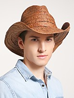 cheap -Classic Style Pastoral Straw Hats with Plaid 1 Piece Casual / Holiday Headpiece