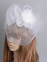 cheap -Retro Hyperbole Tulle Fascinators with Floral / Tiered 1 Piece Special Occasion / Party / Evening Headpiece