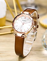 cheap -Women's Quartz Watches Analog Quartz Stylish Minimalist Water Resistant / Waterproof / Genuine Leather