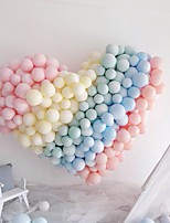 cheap -100pcs Macaron Foil Balloons Pastel Party Rubber Balloons Garland Colored Birthday Party Decoration For Home Wedding Decoration