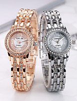 cheap -Women's Quartz Watches Analog Quartz Stylish Minimalist Diamond Creative / Stainless Steel