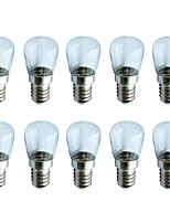 cheap -10pcs 1.5W LED Globe Bulbs 70 lm E14 6 LED Beads SMD 2835 Warm White White 180-260   12 V