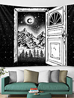 cheap -Wall Tapestry Art Decor Blanket Curtain Hanging Home Bedroom Living Room Decoration and Black and White