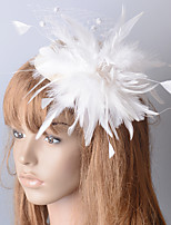 cheap -Elegant Retro Feathers Fascinators with Feather 1 Piece Special Occasion / Party / Evening Headpiece