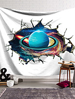 cheap -Wall Tapestry Art Decor Blanket Curtain Hanging Home Bedroom Living Room Decoration Polyester Planet Ring