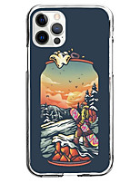 cheap -Scenery Case For iPhone 12 iPhone 11 iPhone 12 Pro Max Unique Design Protective Case Pattern Back Cover TPU