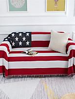 cheap -Sofa Cover Striped / Multi Color / Geometric Printed Cotton Slipcovers