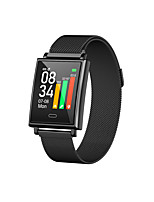 cheap -Y69 Smartwatch for Android iOS Samsung Apple Xiaomi Bluetooth 1.3 inch Screen Size IP68 Waterproof Level Waterproof Touch Screen Heart Rate Monitor Blood Pressure Measurement Sports Timer Stopwatch