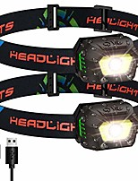 cheap -headlamp led rechargeable usb 1000 lumens super bright headlamp 5 modes ipx5 waterproof ultralight headlamps with motion sensor and red light headlamp for running, jogging, fishing, camping, children