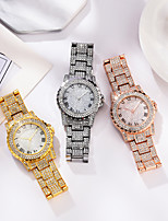 cheap -Women's Steel Band Watches Analog Quartz Glitter Sparkle Diamond