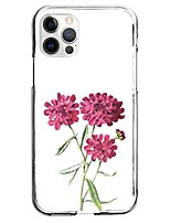 cheap -Flower Case For Apple iPhone 12 iPhone 11 iPhone 12 Pro Max Unique Design Protective Case Pattern Back Cover TPU