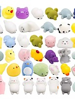 cheap -40 pcs Mochi Squishy Toys Mochi Kawaii squishies Toys Gifts for Party Favors for Kids Mini Supper Cute Animals Stress Relief Toy