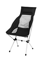 cheap -Camping Chair Multifunctional Portable Breathable Ultra Light (UL) Aluminum Alloy for 1 person Fishing Beach Camping Autumn / Fall Winter Black Purple Red Blue