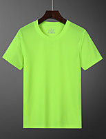 cheap -Women's T shirt Hiking Tee shirt Short Sleeve Tee Tshirt Top Outdoor Quick Dry Lightweight Breathable Sweat wicking Autumn / Fall Spring Summer POLY Dark Grey White Black Hunting Fishing Climbing