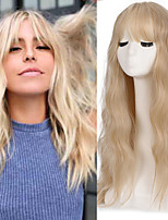 cheap -Long Wavy Womens Wig Synthetic Wigs with Bangs Heat Resistant Cosplay Wig for Women African American