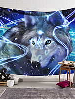 cheap -Wall Tapestry Art Decor Blanket Curtain Hanging Home Bedroom Living Room Wolf Animal  Fantasy