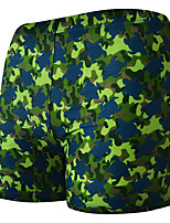cheap -Men's Swim Shorts Swim Trunks Elastane Board Shorts Breathable Quick Dry Swimming Surfing Water Sports Painting Summer