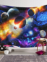 cheap -Wall Tapestry Art Decor Blanket Curtain Hanging Home Bedroom Living Room Decoration and Modern and Sky / Galaxy