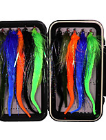 cheap -10 pcs Lure kit Fishing Lures Flies Sinking Bass Trout Pike Sea Fishing Fly Fishing Freshwater Fishing