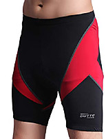 cheap -men's bike shorts gel padded road bicycle clothing quick dry (x-large, 730a red)