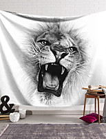 cheap -Wall Tapestry Art Decor Blanket Curtain Hanging Home Bedroom Living Room Decoration and Animal and Black and White