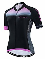 cheap -women's cycling jersey, pro team summer short sleeve mtb bicycle clothing, comfortable quick dry