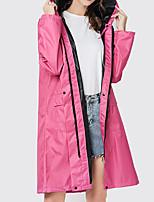 cheap -Women's Men's Rain Poncho Waterproof Hiking Jacket Rain Jacket Autumn / Fall Spring Summer Outdoor Solid Color Waterproof UV Sun Protection Windproof Quick Dry Raincoat Poncho Top Fishing Climbing
