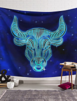 cheap -Wall Tapestry Art Decor Blanket Curtain Hanging Home Bedroom Living Room Decoration Polyester Antelope Head