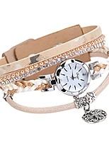 cheap -Watch Rhinestone Wristwatch Women Fashion Bracelet Women Watch Quartz Wristwatches