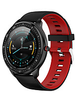 cheap -Z06 Smartwatch for Android iOS Samsung Apple Xiaomi Bluetooth 1.3 inch Screen Size IP 67 Waterproof Level Waterproof Touch Screen Heart Rate Monitor Blood Pressure Measurement Sports Timer Stopwatch
