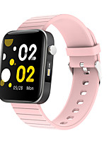 cheap -T68 Smartwatch for Android iOS Samsung Apple Xiaomi Bluetooth 1.54 inch Screen Size IP 67 Waterproof Level Waterproof Touch Screen Heart Rate Monitor Blood Pressure Measurement Sports Pedometer Call