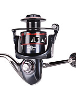 cheap -Fishing Reel Spinning Reel 5.2:1 Gear Ratio 12 Ball Bearings Easy Install for Sea Fishing / Fly Fishing / Freshwater Fishing