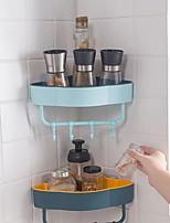 cheap -Tools / Hooks Washable / Self-adhesive / Storage Modern Contemporary PP 2pcs - Body Care Bath Organization