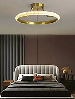 cheap -LED Ceiling Light Circle Design 45/55cm Modern Gold Desgin Flush Mount Lights Aluminum Electroplated LED 110-120V 220-240V